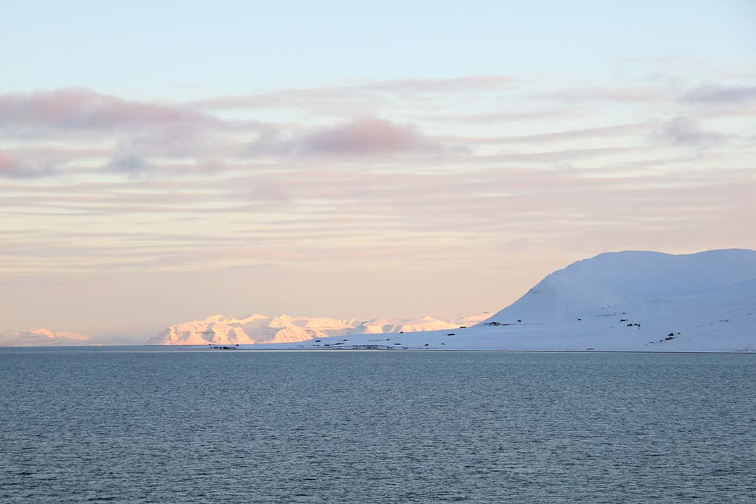 Mountains in Svalbard